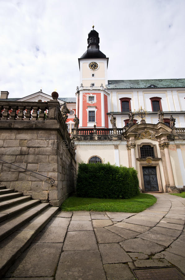 Download Monastery in Broumov stock image. Image of building, monument - 26813577