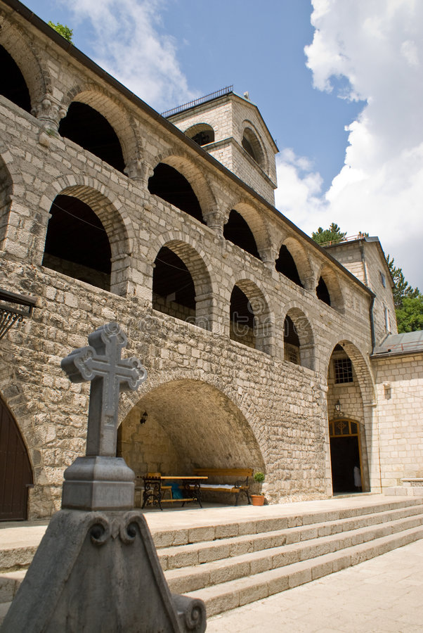 Monastery Cetinje architecture royalty free stock photography