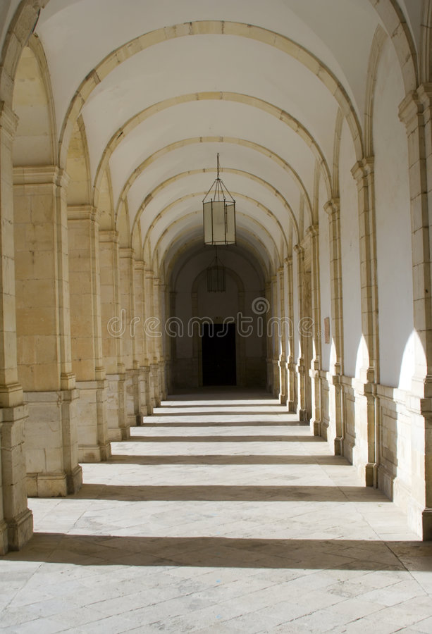 Download Monastery Cloisters stock photo. Image of order, castilla - 3609986