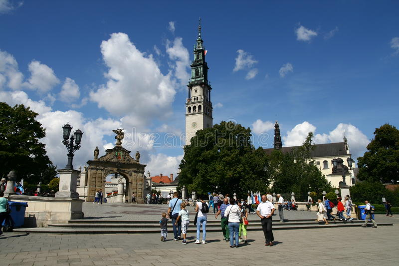 Monastery in Czestochowa royalty free stock image