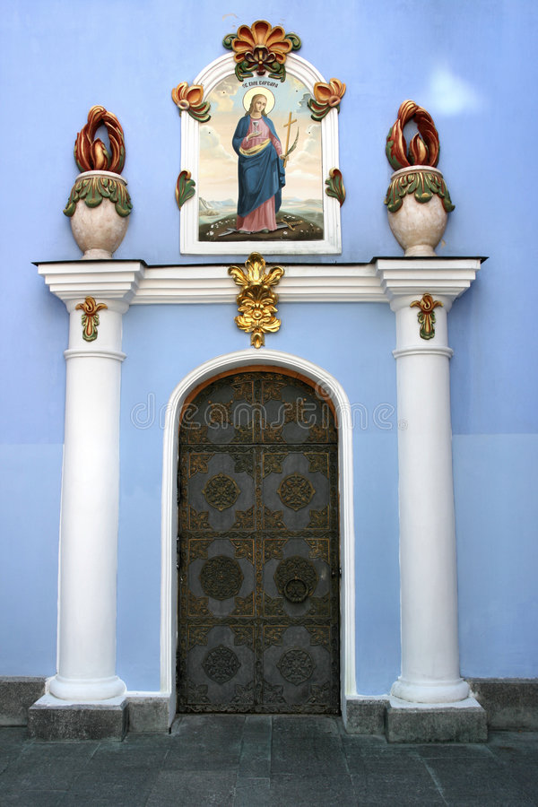 Download Monastery door stock image. Image of famous, saint, ornate - 6920967