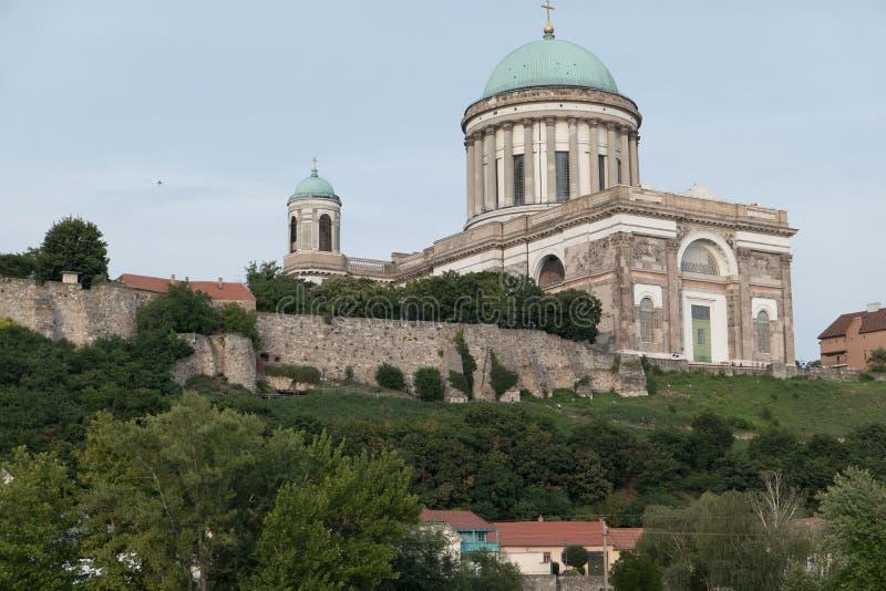 The monastery of esztergom stock photography
