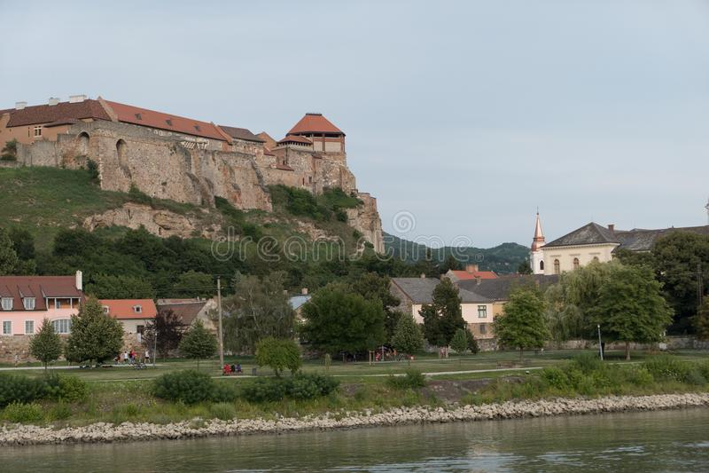 The monastery of esztergom stock images