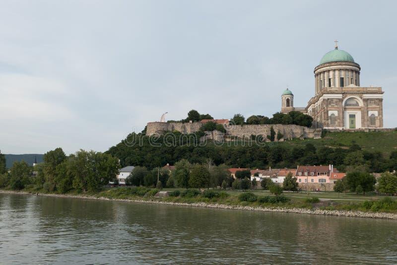 The monastery of esztergom stock photos