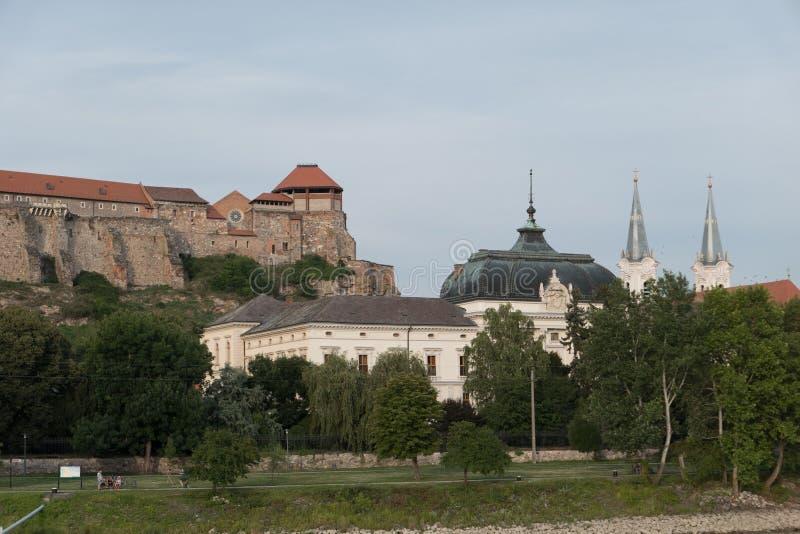 The monastery of esztergom royalty free stock photography