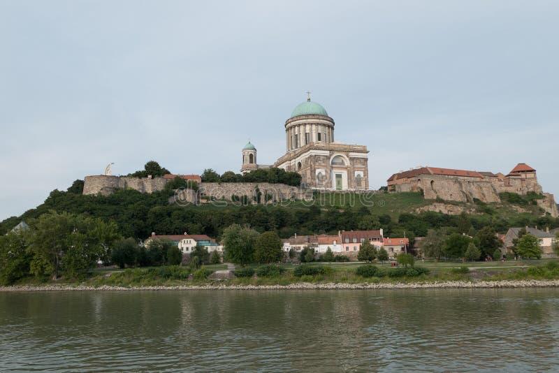 The monastery of esztergom royalty free stock photos