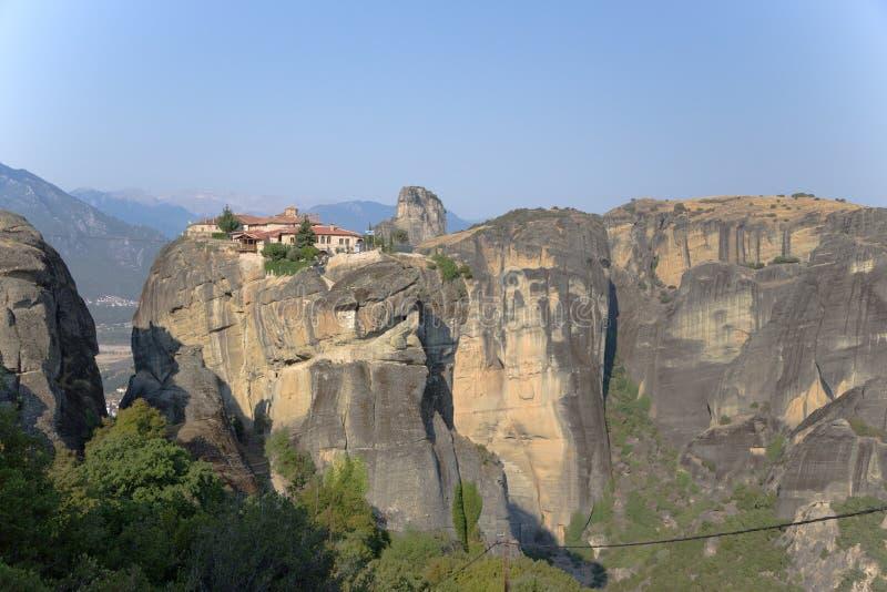 Monastery of the Holy Trinity, Meteora royalty free stock photography