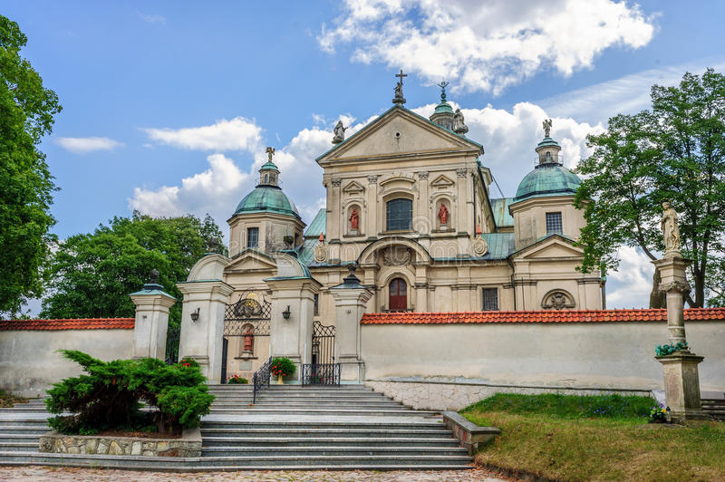 The Monastery of John Baptist, Poswietne, Poland royalty free stock photography