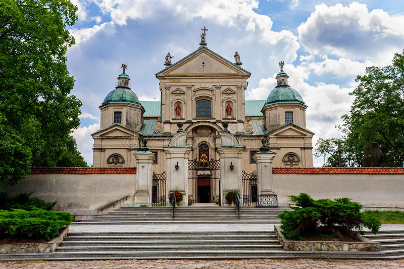 The Monastery of John Baptist, Poswietne, Poland royalty free stock photo