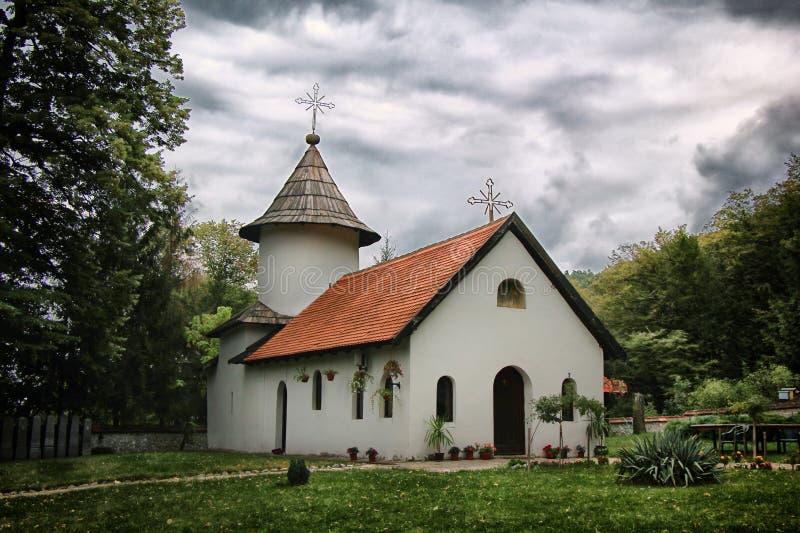 Monastery Jovanja stock image