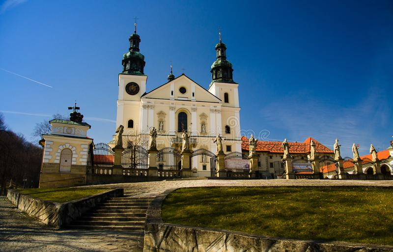 Monastery of Kalwaria Zebrzydowska near Krakow, Poland stock photo