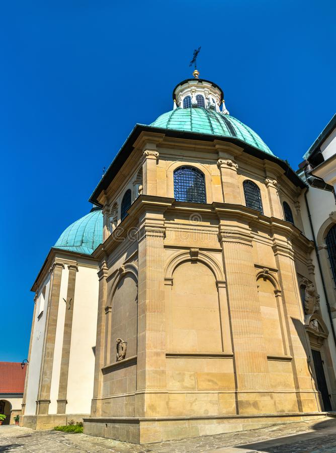 Monastery of Kalwaria Zebrzydowska, a UNESCO world heritage site in Poland stock photos