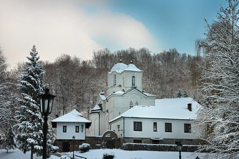 Monastery Kaona stock photography