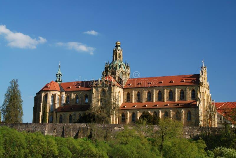 Monastery in Kladruby stock photography
