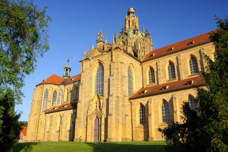 Monastery in Kladruby royalty free stock images