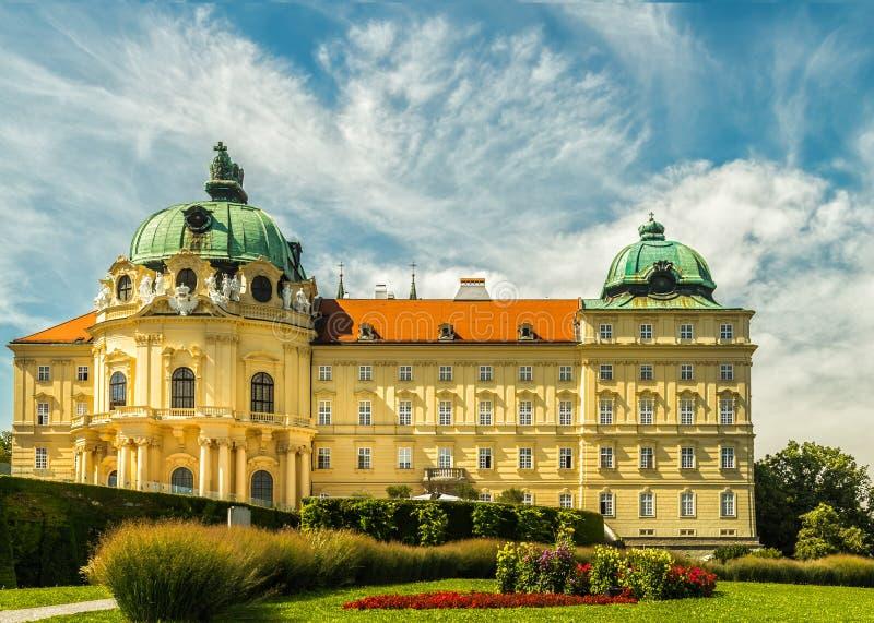 Monastery of Klosterneuburg royalty free stock photo