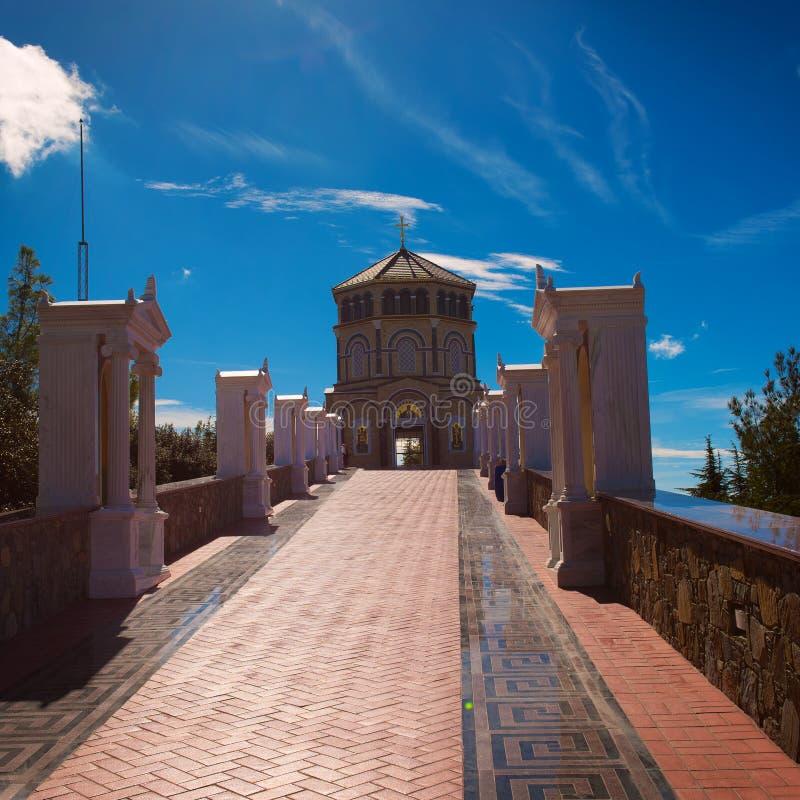 Download Monastery of Kykkos stock image. Image of monastery, greek - 83703691