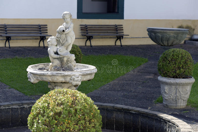 Monastery of the Luz in Sao Paulo royalty free stock images