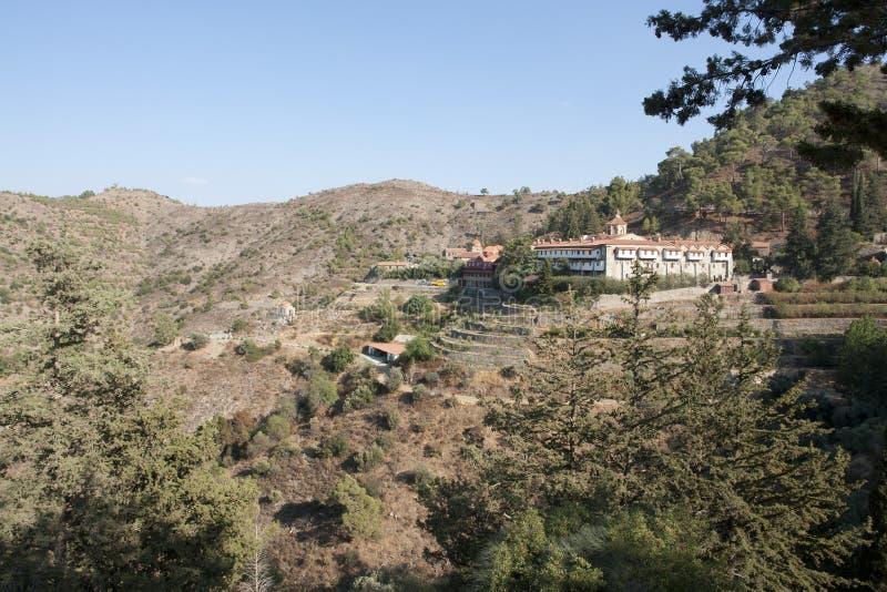 Monastery Machairas Cyprus royalty free stock photos