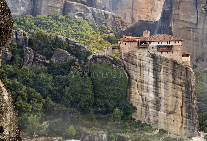 Download Monastery At Meteora In Greece Stock Image - Image: 26543839