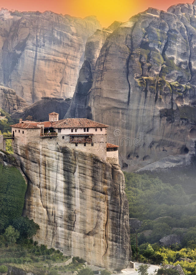 Download Monastery At Meteroa In Greece Stock Photo - Image: 26543756