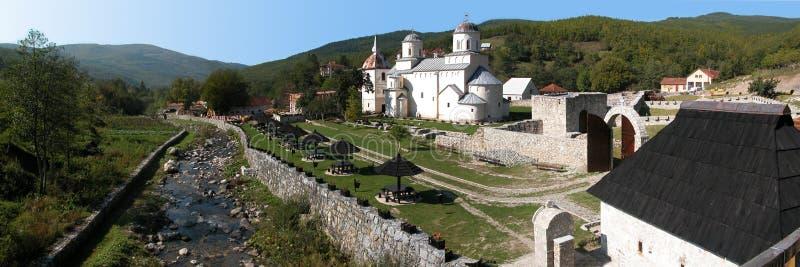 Monastery Mileseva stock image