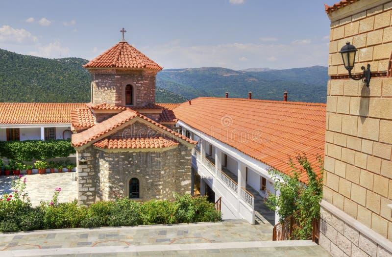 Monastery of the miraculous Panayia Malevi royalty free stock photo