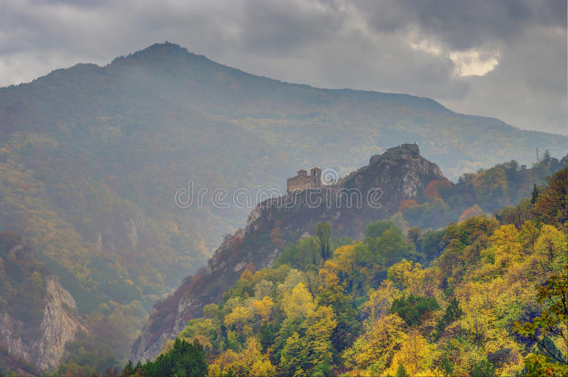 Download Monastery in the mountain stock image. Image of mountain - 35296733