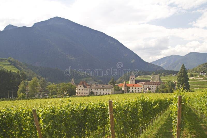 Monastery Neustift stock image