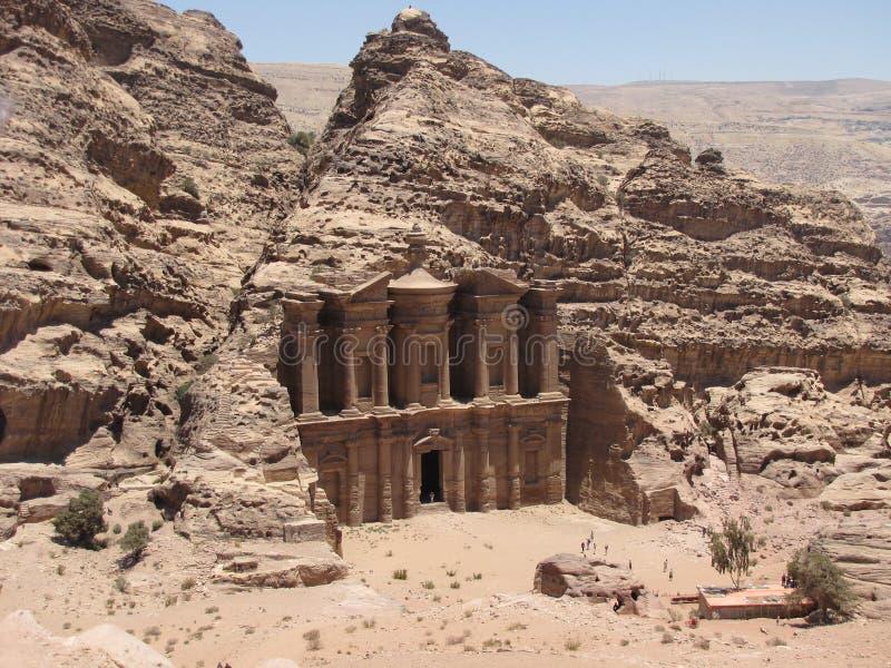 Download Monastery Petra stock photo. Image of pink, monastery - 10357810