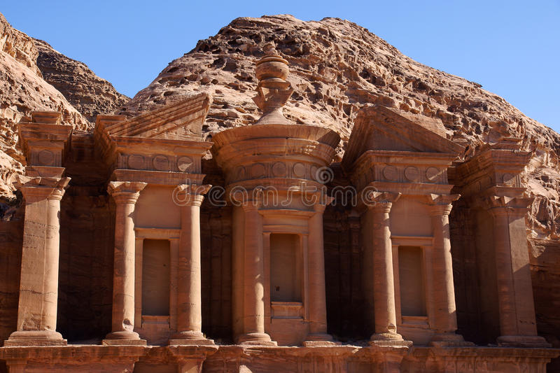 Download Monastery In Petra Stock Photo - Image: 23006900
