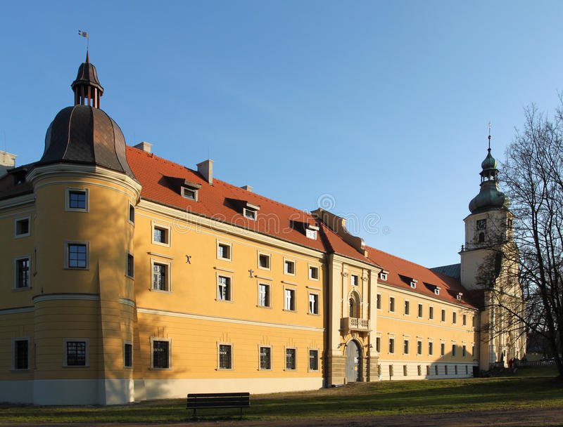 Monastery in Poland royalty free stock images