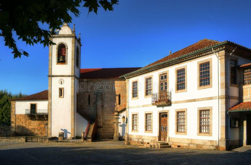 Download Monastery Of Santa Maria De Vila Boa Do Bispo Stock Image - Image of europe, illage: 95570915