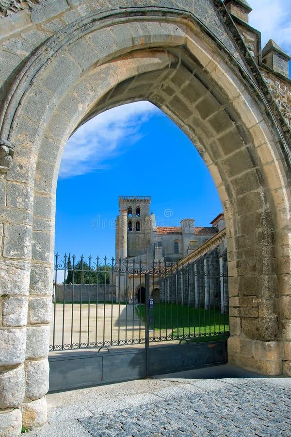 Monastery of Santa Maria la Real de Huelgas royalty free stock photography