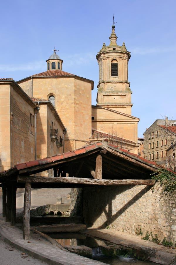 Monastery of Santo Domingo de Silos (Spain) royalty free stock images