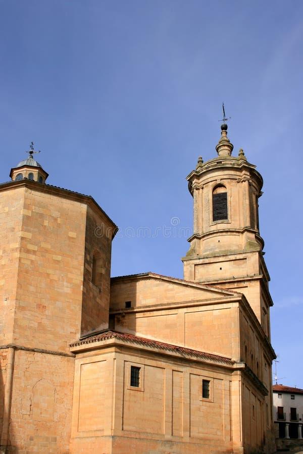 Monastery of Santo Domingo de Silos (Spain) stock photography