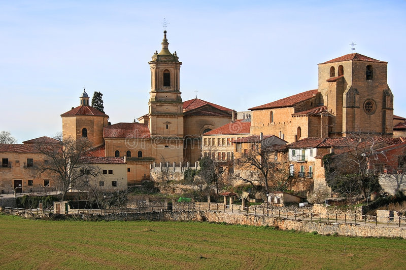 Monastery of Santo Domingo de Silos (Spain) stock photos