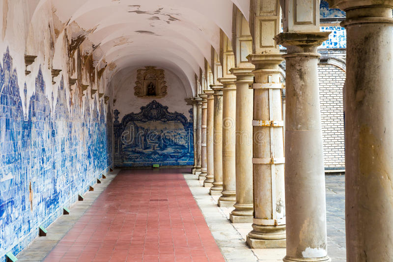 The Monastery of Sao Francisco in Salvador, Bahia, Brazil.  royalty free stock photography