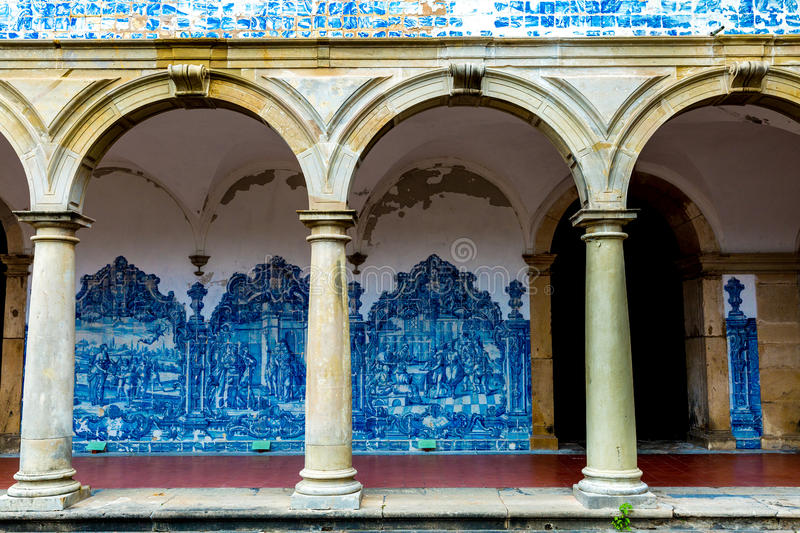 The Monastery of Sao Francisco in Salvador, Bahia, Brazil.  stock photos