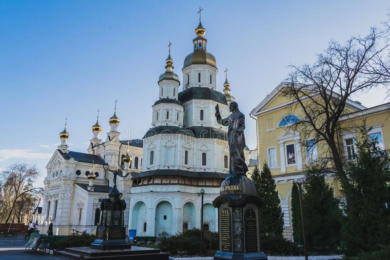 Download Monastery stock image. Image of ukraine, side, city, contranym - 89712913