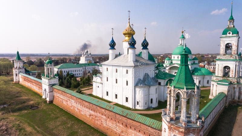 Monastery of St. Jacob Saviour  is an Eastern Orthodox monastery royalty free stock photos