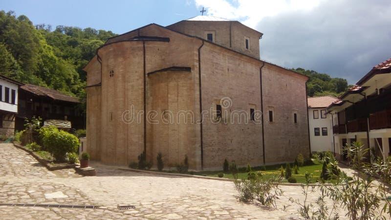 Monastery St. Mary Mother of God - Precista stock photography
