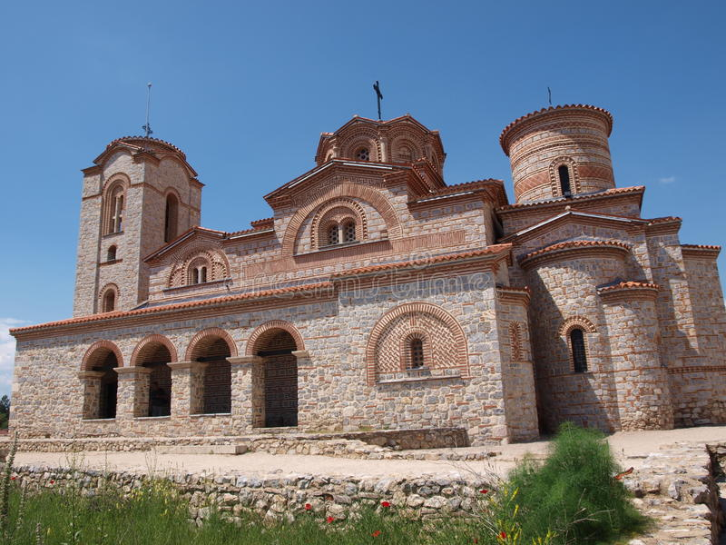 Monastery of St. Panteleimon, Ohrid, Macedonia. The monastery of St Panteleimon, Ohrid, Macedonia otherwise known as the monastery of Saint Clement royalty free stock images