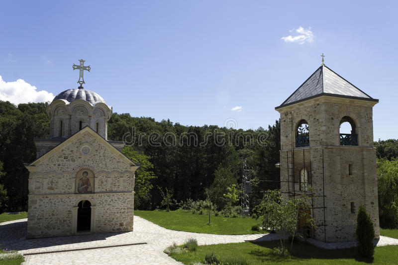 Monastery Staro Hopovo royalty free stock images