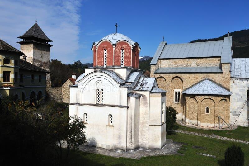 Monastery Studenica royalty free stock image