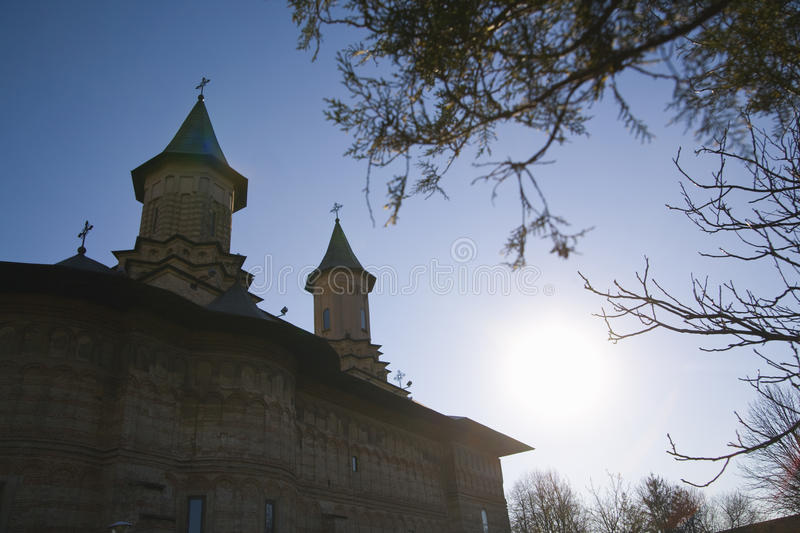 Download Monastery in sunlight stock photo. Image of towers, sunlight - 20083200