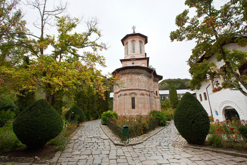 Download Monastery From An Wood-the Stone Church Royalty Free Stock Images - Image: 23575379