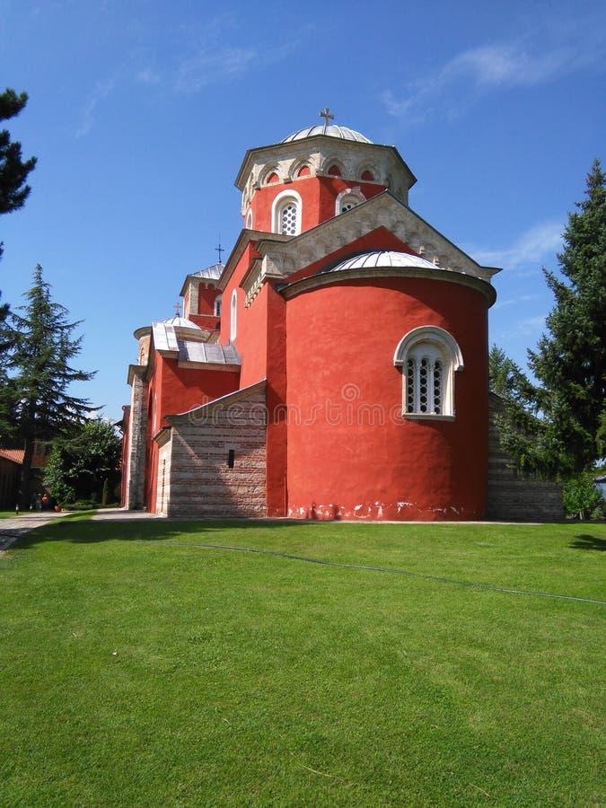 Free Monastery Zica Royalty Free Stock Photography - 58867607