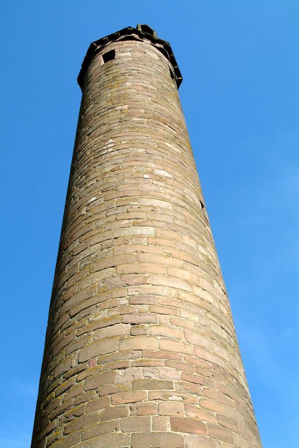 Monastic Tower - Brechin, Scotland stock photo