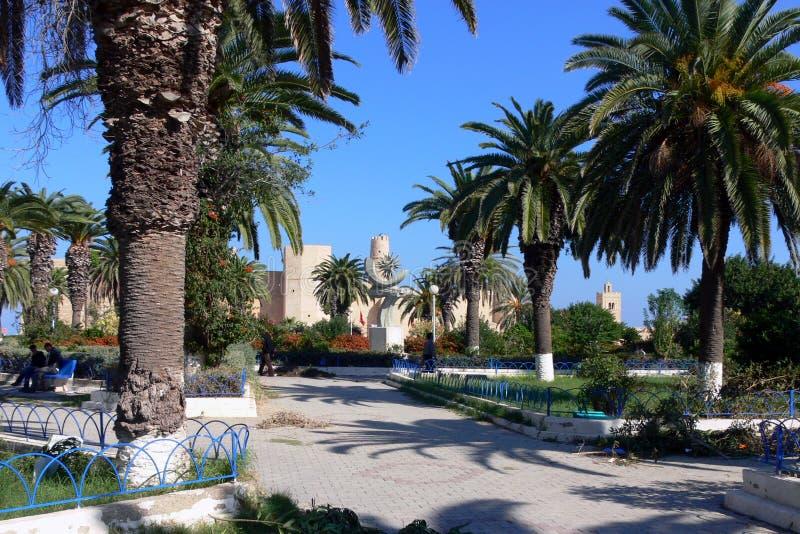 Monastir,突尼斯Ribat  免版税图库摄影